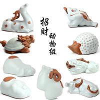Animal tea pet lucky decoration tea play dragon turtle goat pi xiu tortoise pig dog hedgehogs3 toad