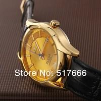Mechanical watches Complete Calendar Men Sports watches Luxury brand Analog wristwatch Winner leather Strap Military watch