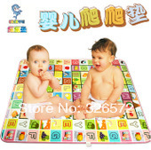 OEM New Style Single-Side Printing Baby Play Mat 180*120CM  Baby Crawling Mat Baby Rug