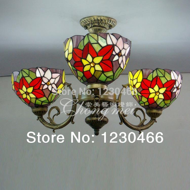 Tiffany shipping minimalist modern bedroom lamp cozy living room ceiling home lighting Restaurant(China (Mainland))