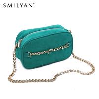 Free shipping!Smilyan 2014 new green box gem  vintage chain women messenger bags women handbag vintage day clutch wallets 88993