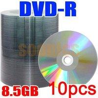 10 Pcs 8.5G Blank Discs Recordable Printable DL DVD-R DVD+R Disc Disk D1001