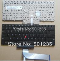 100% tested black Laptop US Keyboard/ Layout for LENOVO ThinkPad EDGE 14 E40 15 E50 with backlight