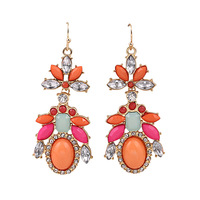 India jewelry wholesale cheap,lot 3pairs dangle earrings women 140116 free shipping cheap price
