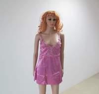 Drop Free Shipping Newly Arrival Sexy Lingerie Purple Dress Hot Selling Women Hot Robe Sleepwear
