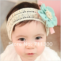 new lovely baby girls Chiffon flower headband kids headbands Toddler headwear children hair accessories