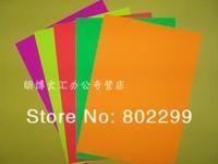 A4 Label Paper: A4 fluorescent color stickers fluorescent label paper lamination print sticker color fluorescent sticker paper