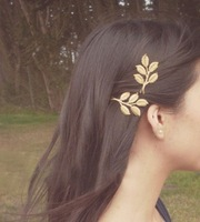 2014 New Alloy Gold Plated Delicate Sweet Brief Style Hairpins,Hair Comb Headband Hair Accessories Punk