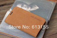 For Sony Xperia Z2 L50w case,New 100% Genuine Leather Flip wallet Cover Case For Sony Xperia Z2 L50w case Free Shipping
