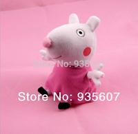 Suzy Sheep 20CM 8pcs/set hot sale  Peppa George Pig friends family Plush Toy Set Peppa Pig  Stuffed Animals Dolls baby toys pepa
