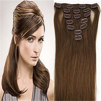 perfumes and fragrances of brand originals virgin rosa hair products afro straight hair Remy Clip in Human Hair  7pcs 70g