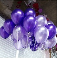 Free Shipipng 100pcs/lot Latex Helium Inflable Thickening Pearl Wedding Party and 1st Birthday Balloon Q3257