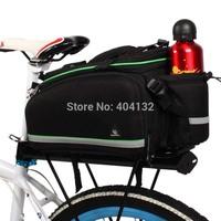 9pcs/lot Travel Bike Cycling Bicycle Rear Frame Seat Pannier Bag With Shoulder Strap