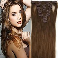 virgin rosa hair products afro kinky hair brazilian virgin straight hair Remy Clip in Human Hair  7pcs 70g malaysian deep