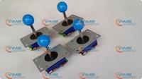 4 pcs ZIPPY Joystick Long shaft blue yellow ball top 4ways and 8 ways joystick arcade machine parts joystick with Microswitches