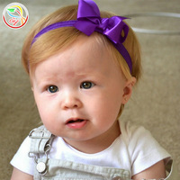 """(36 pieces/lot) 3"""" Ribbon Bows Baby Headbands,Newborn Baby Photograph prop Hair accessories"""
