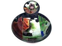 Counter basin art wash basin wash basin tempered glass basin hand painting pots set