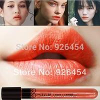 14# New Arrival Waterproof Milk Orange Color Lipstick matte smooth lipgloss 24 hours Long Lasting Lip Makeup