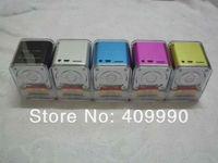 120 PCS original mini speaker multimedia speaker,MD06 portable speaker support TF card and U-disk