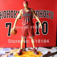 New 2014 hot classic toys Japanese anime pvc action figure Shohoku 10 player Sakuragi Hanamichi large collectible figurine