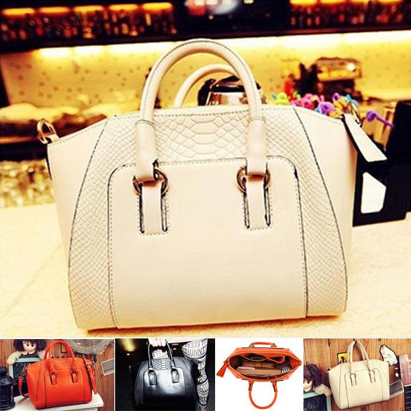 2014 nuevo de moda femenina breve patrón de cocodrilo bolsa de hombro las mujeres bolsa de mensajero de envío gratis 7003