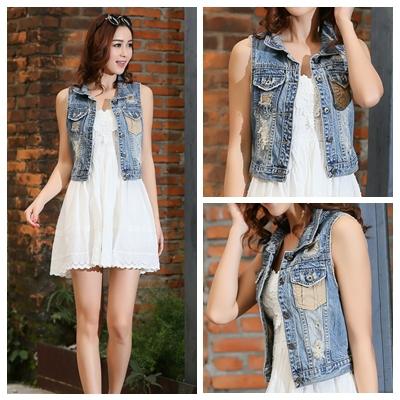 Wholesale Plus Size S 5xl Spring Long Sleeve Fashion Denim Jacket
