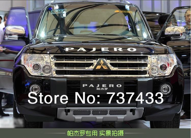 """3D hear Cover Letter body Stickers for mitsubishi pajero sport car suv """"pajero"""" sticker(China (Mainland))"""