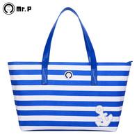 Mr.p large capacity multifunctional mummy bag fashion mother bag large capacity maternity infanticipate bag