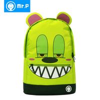 Mr.p student school bag fashion child school bag fashion backpack male female backpack