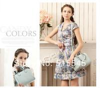 Cowhide fashion trend of the bucket handbag BOSS bag womens messenger bag
