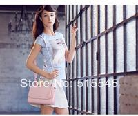 New arrival 2014 womens handbag fashion trend of casual genuine leather messenger bag