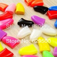 Free Shipping 1000pcs Colorful Soft Cat Nail Caps Pet Dog Small Nail Cap Wholesale