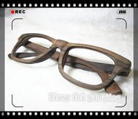 Bamboo glasses calamander frame glasses handmade wool plain wooden glasses sunglasses