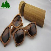 Fashion trend of glasses sunglasses all solid wood glasses cherry wood polarized glasses bamboo handmade sunglasses