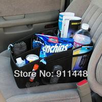 Car storage box storage box debris bag portable glove box car storage products