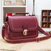 2014 female bags preppy style fashion vintage messenger bag handbag shoulder bag cross-body bag small