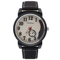 """Women 's mens designer watch watches"" women fashion key-2 luxury watch Japan leather Wrist picking watch"