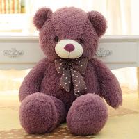 empty!!! 2014New plush toy 160cm Teddy Bear skin 2color bowknot teddy bear birthday Christmas  Valentine's day gifts