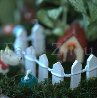 3x10CM Newly Coming Mini Artificial Small Fence Green Miniature Plant Garden Decorative Fence with Different Colors