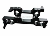 15mm 19mm Rod Rail Bridge Adapter Clamp Block fr DSLR Light Weight Studio Support Rail Rig