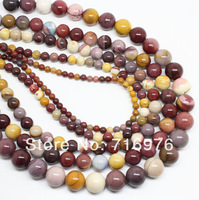 4 6 8 10 12mm Natural Colorful Mookaite Rondelle Beads 15.5inch/strand Pick Size Free Shipping-F00114