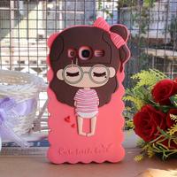 For samsung   i9082 i9128e small silica gel sets i9080 cartoon small phone case silica gel mobile phone case