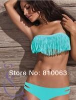 Fashion Sexy Bikini Set Push Up Swimwear 2014 Newest Free Shipping lady beach Swimsuit Brand Style Women's Bikinis hot sellng