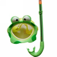 Gustless intex55940 frog mask combination of swimming goggles submersible mirror breathing tube