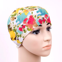 Swimming cap cloth cap high-elastic fabric fashion fancy cloth swimming cap swimming cap