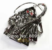 Metal Skull Wizards USB Drive 1GB 2GB 4GB 8GB 16GB 32GB  Memory Flash Thumb Stick Pendrive 2.0