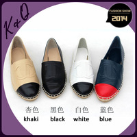Hot Selling Genuine Leather High Quality Comfortable  Flat Shoes Factory Dropshipping
