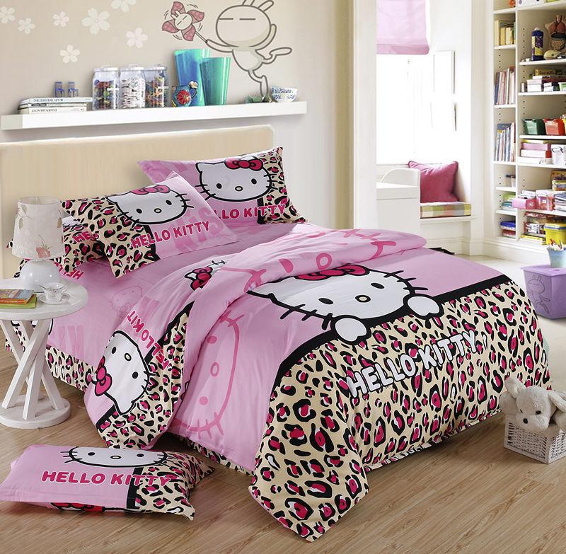 size hello comforter