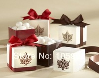 Free Shipping 100pieces/lot Bride And Groom Wedding Favor Boxes Gift Box Candy Box