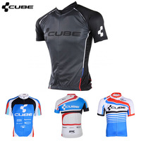 Best Selling summer Men Cube short sleeve Cycling Jersey/High quality cool bike shirts riding clothing 4MG1